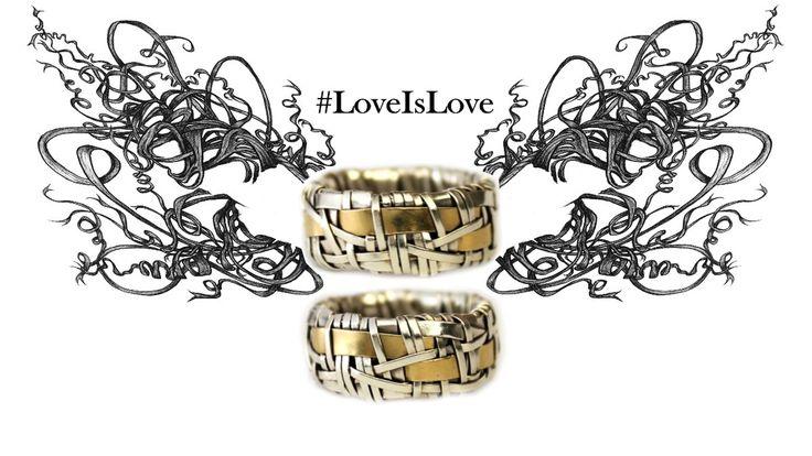 Love is Love, rings by Gurgel-Segrillo