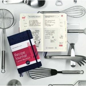Moleskine Passions Recipe Journal with the dedication of Csaba dalla Zorza