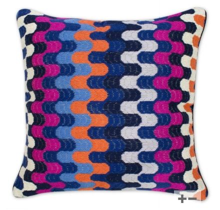 Needlepoint Pillow Decoration Perhaps Crossword : 40 best Beautiful bargello images on Pinterest Bargello needlepoint, Bargello patterns and ...