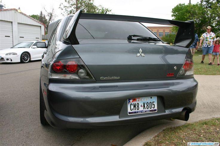 Mitsubishi Lancer Evolution 8 MR - mildly modified.