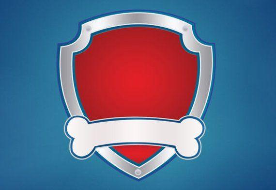 Paw Patrol Badge Outline Emblem Logo Image Clipart Transparent Etsy Imprimibles Paw Patrol Cumple De Patrulla Canina Imagenes Patrulla Canina
