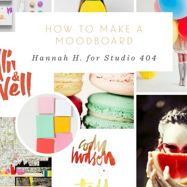 Not Very Obsessed How To Make A Moodboard post for Studio 404