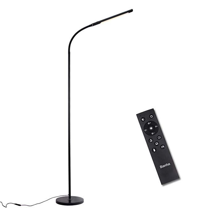 Barrina Led Floor Lamp For Reading Dimmable And Color Adjustable