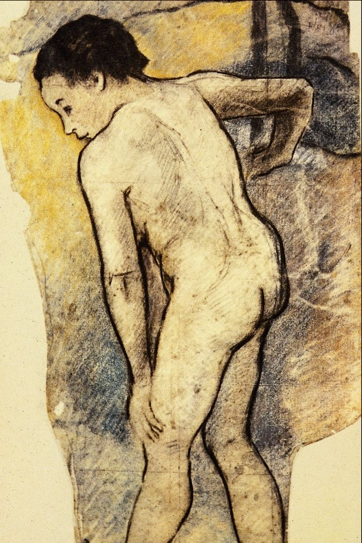 Paul Gauguin  similarity of pose to Rodin, and yet so different
