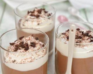Liégeois au chocolat allégé sans crème