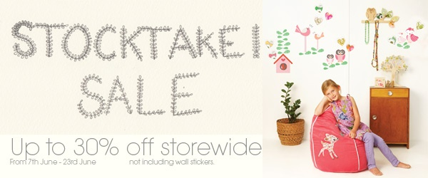 June Stocktake Sale!!!