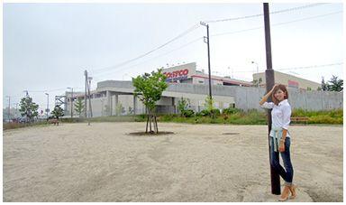 新三郷駅周辺の「ららシティ大通り公園」