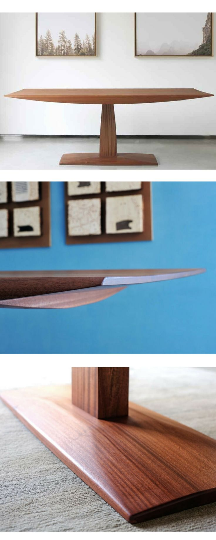 Table PI Greco Mahogany Wood by DIMA art& design . interior design wooden table