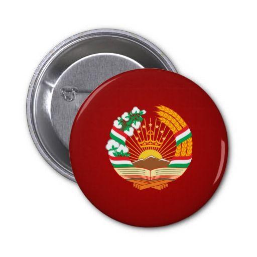 Tajik coat of arms pin