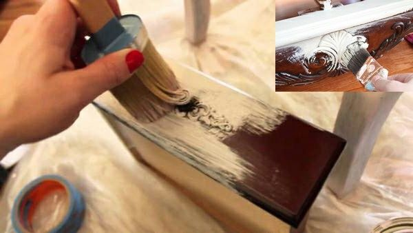 How to Update Old Furniture With Paint