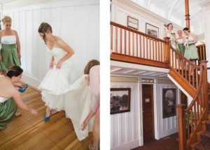 Something Blue - Getting Ready on board the SS Sicamous - Wedding Photography by Lorena Astrid