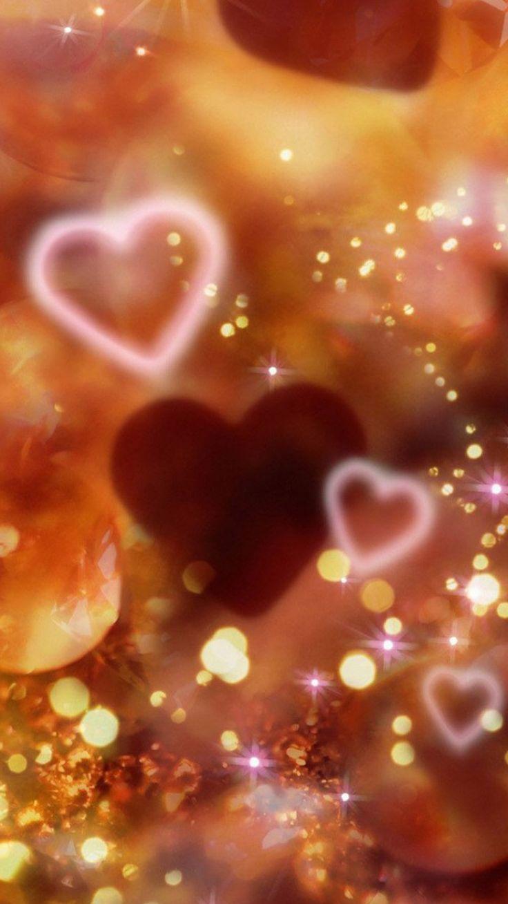 Shiny Love Sparkle Light Glitter Background #iPhone #6 #plus #wallpaper