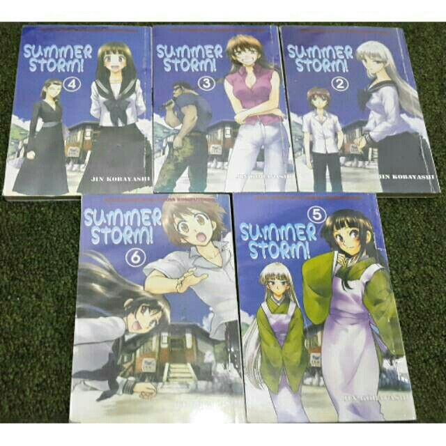 Saya menjual KOMIK SUMMER STROM 2-6 (Jin Kobayashi) seharga Rp50.000. Dapatkan produk ini hanya di Shopee! https://shopee.co.id/bellamisa/465312839 #ShopeeID