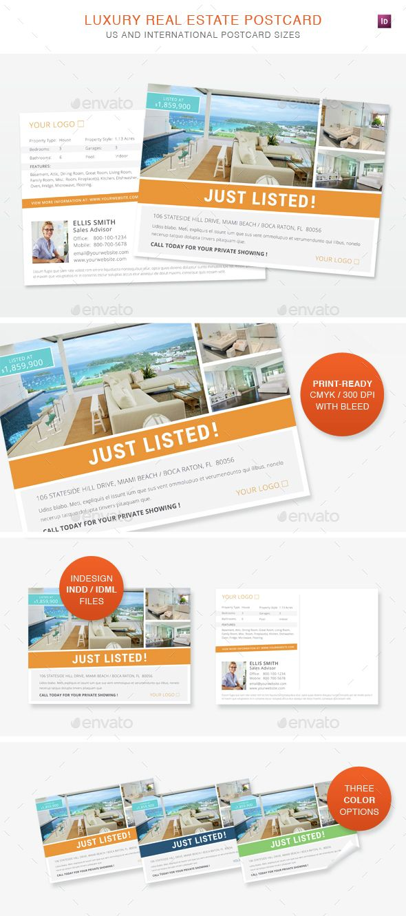 29 best Real Estate Postcard Marketing images on Pinterest ...