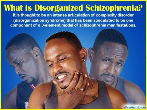 What is Disorganized Schizophrenia or Hebephrenic Schizophrenia