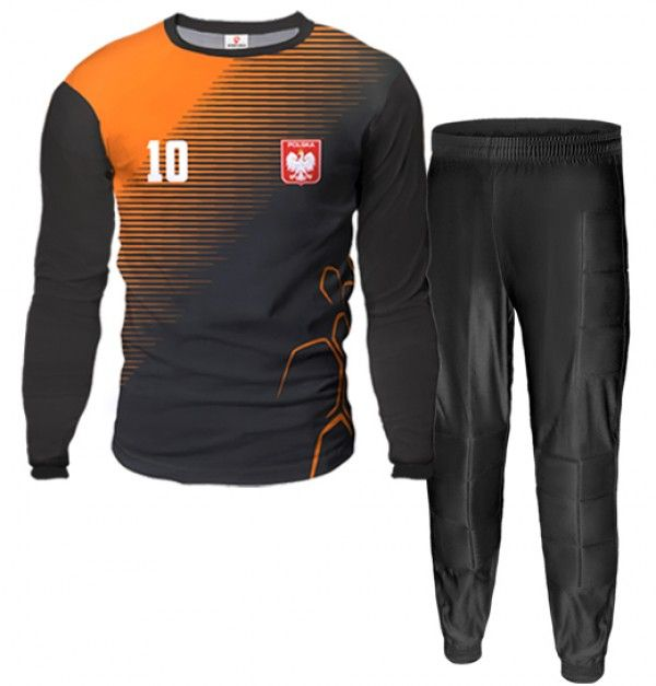 ARMOR Goalkeeper Kit With Pants With Custom Name Number And Logo Different Colors