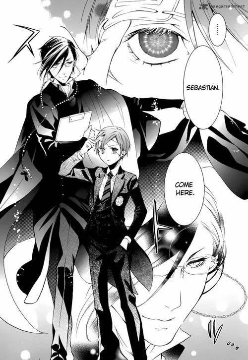 Sebastian being one hell of a butler