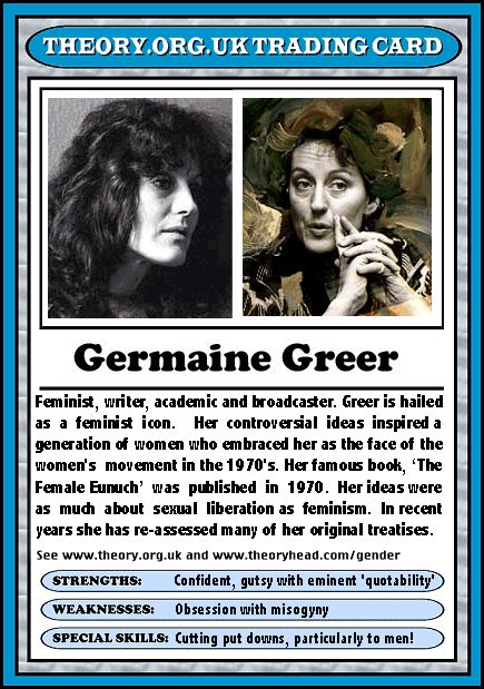 Germaine Greer (1939 - )