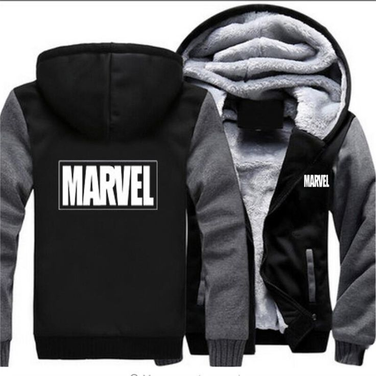 2018 Winter Marvel Hoodie Men's Sweatshirts Hot Sell USA EU
