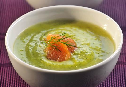 Kremowa zupa brokułowa