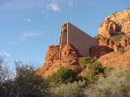 Never miss a trip to the Chapel of the Holy Cross if you get to Sedona ~ it has been recommended to us to hike the Red Rock Crossing at Cathedral Rock...reason for trip three :)