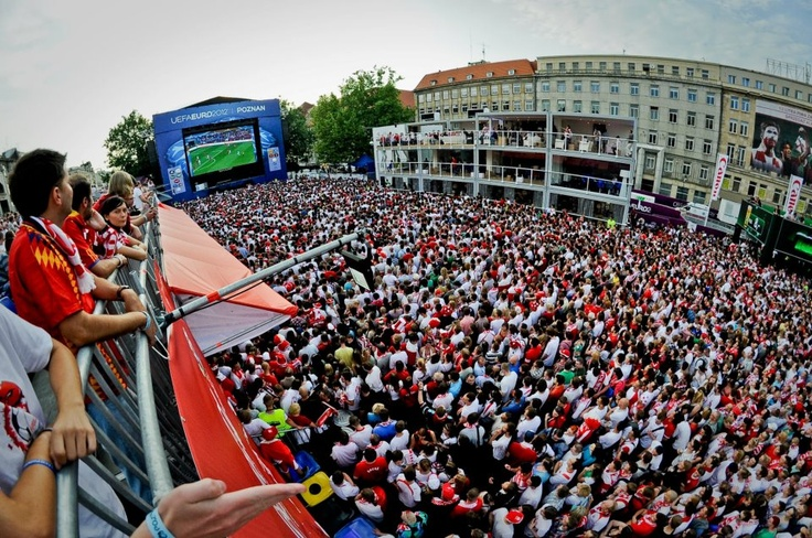 Poznan Poland - the Host City of UEFA EURO 2012, Fan Zone