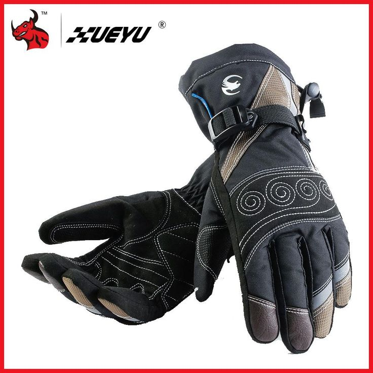 XUEYU Winter Windproof Waterproof Motorcycle Gloves Motorcross Riding Gloves Snowboard Skiing Warm Gloves Luvas Da Motocicleta