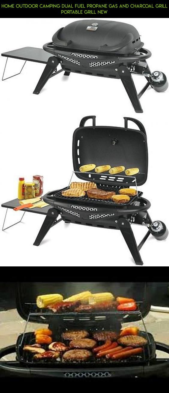 Home Outdoor Camping Dual Fuel Propane Gas and Charcoal Grill Portable Grill New #and #parts #drone #charcoal #plans #gadgets #gas #grills #camera #racing #products #kit #shopping #tech #technology #outdoor #fpv