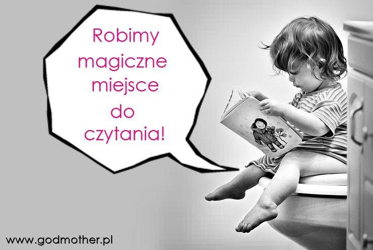 Jak zachęcić dziecko do czytania? Stworzyć mu specjalne do tego magiczne miejsce! Przykłady w artykule!