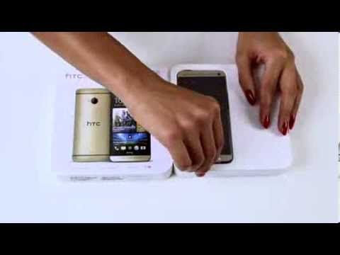 HTC One Gold Unboxing!