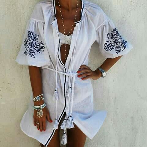 LEFKADA shirt dress