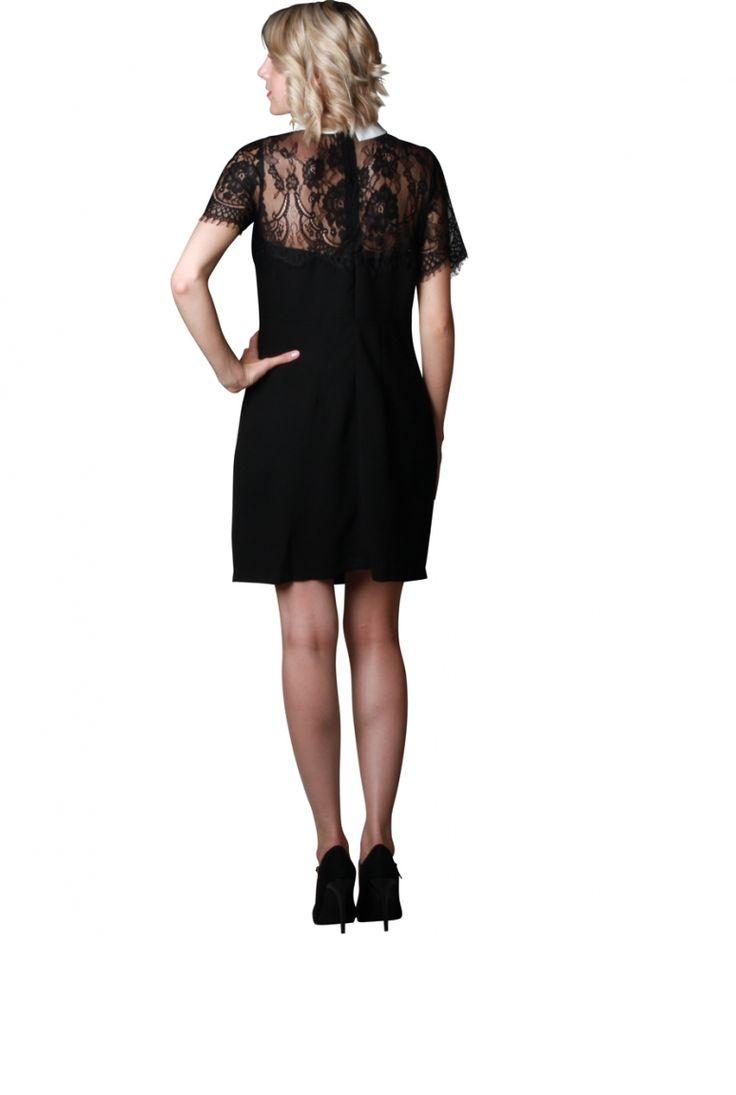 17 meilleures id es propos de robe noire col claudine sur pinterest robe col claudine robes. Black Bedroom Furniture Sets. Home Design Ideas