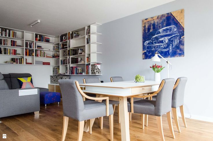 Jadalnia styl Skandynawski - zdjęcie od Studio Malina – Architekci & Projektanci wnętrz - Jadalnia - Styl Skandynawski - Studio Malina – Architekci & Projektanci wnętrz