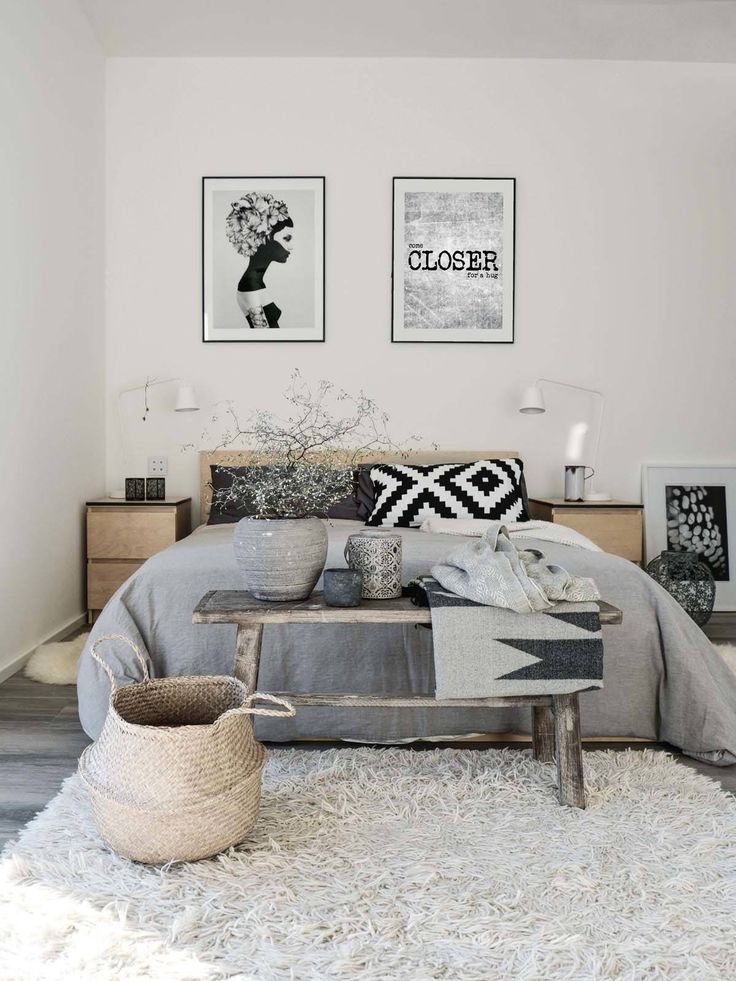 Znalezione obrazy dla zapytania scandinavian bedroom