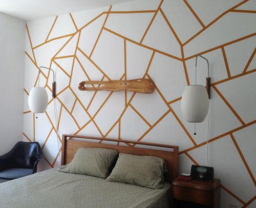 designsponge-diy-geometric-wall-2                                                                                                                                                                                 Plus
