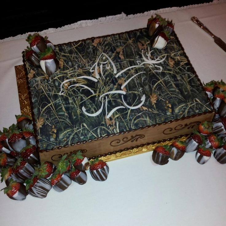 Louisiana Sportsman Grooms Cake from Ambrosia Bakery of Baton Rouge, LA