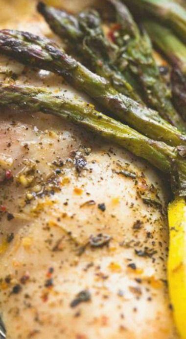 Lemon Chicken & Asparagus Foil Packs