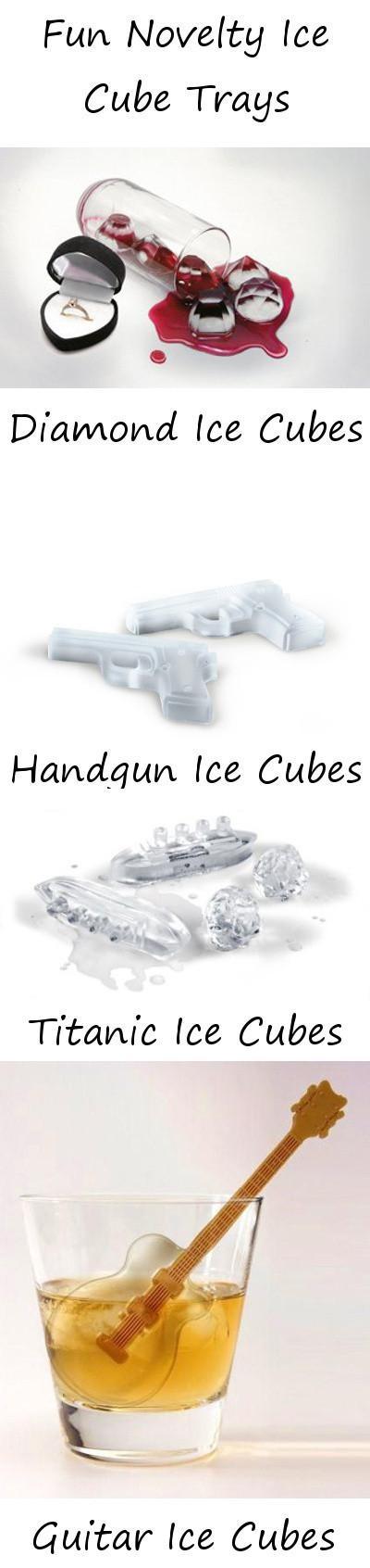 Fun Novelty Ice Cube Trays!