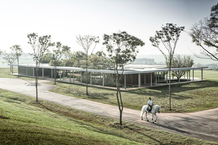 Isay Weinfeld - Fazenda Boa Vista equestrian center, Porto Feliz 2012