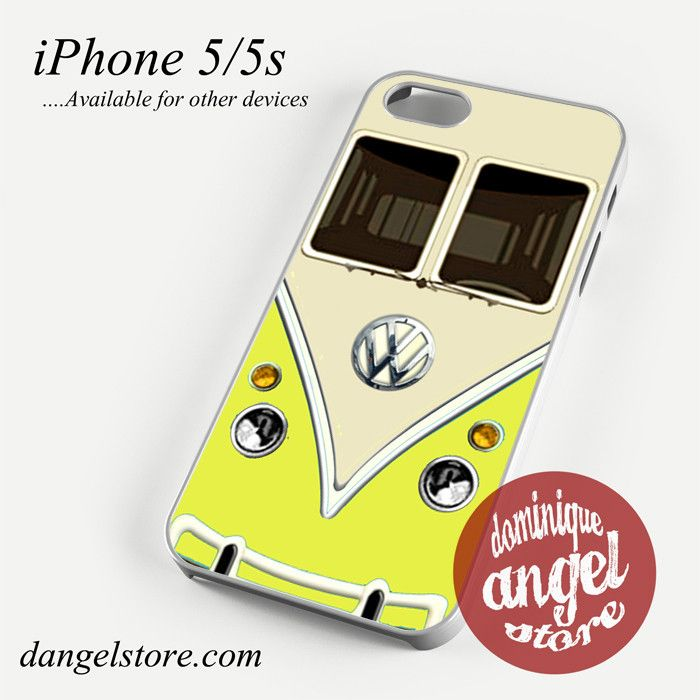 yellow vwl bus Phone case for iPhone 4/4s/5/5c/5s/6/6 plus