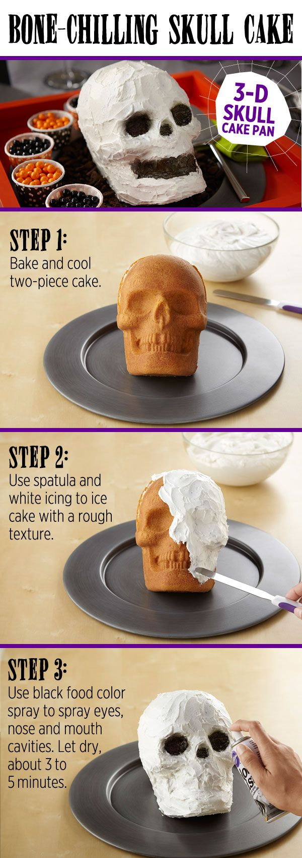 how to make a skull out of fondant