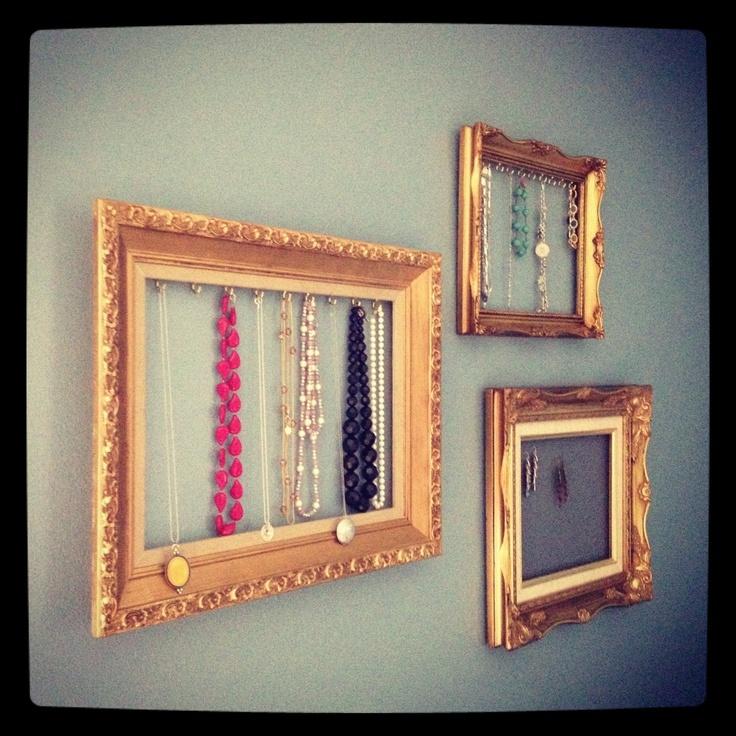 Custom Jewelry Display Frame: Best 25+ Jewelry Frames Ideas On Pinterest