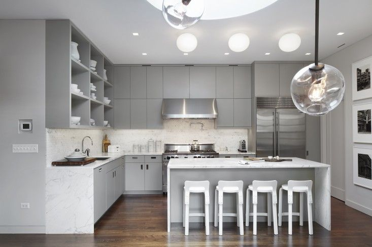 Kitchen of Pulltab Project on White Street, Tribeca, New York