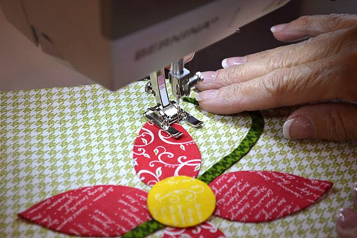 Quilter Jill Finley shares her easy method for invisibly stitchedmachine appliqué in this tutorial at WeAllSew.