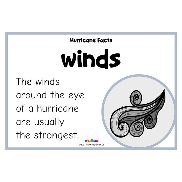 Teach your class a variety of hurricane facts with this engaging and exciting resource! Covering facts such as their location, different terms and more.
