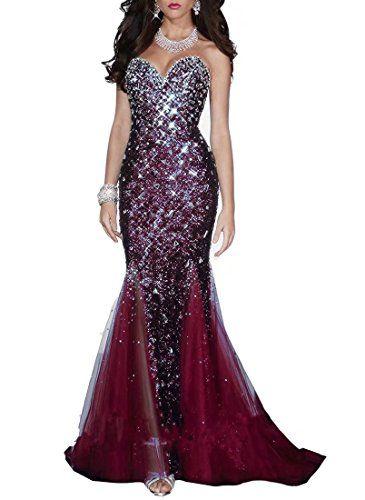 58071f8b9f6 Emmani Damen Kleid Gr. 40 weinrot
