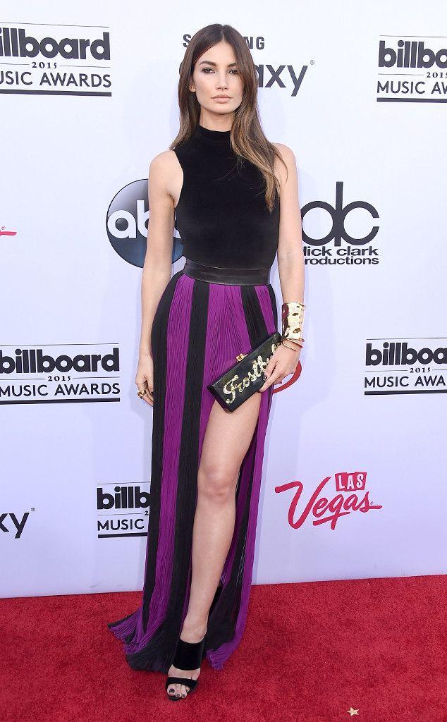 Lily Aldridge from 2015 Billboard Music Awards Red Carpet Arrivals | E! Online