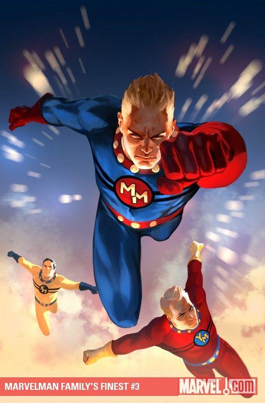 Top 15 ideas about Marvelman/ Miracleman on Pinterest ...