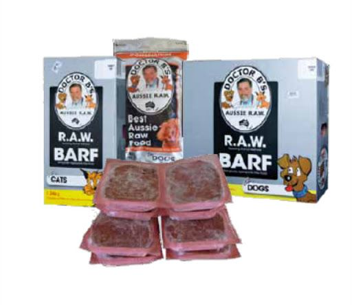www.petusuals.com.au   2.72 kg per box = 12 paties of 227 g  Dr Billinghurst's R.A.W BARF is a biologically appropriate raw food (BARF) for restoring animal wellness.  Dr. Billinghurst is passionate about pet health and he knows that most of the disease processes which afflict modern pets are due to poor nutrition. Dr. Billinghurst knows that modern processed pet foods are responsible for most of that ill health and he has the simple but powerful solution to this problem... That solution is…