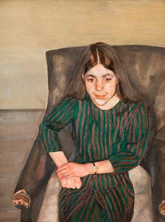 ANNABEL, by Lucian Michael Freud (1922~2011) More